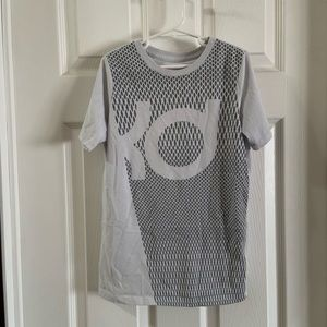 Nike Light Grey kd Kevin Durant Athletic Cut Tee S